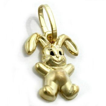 Anhänger, Hase, 9Kt GOLD