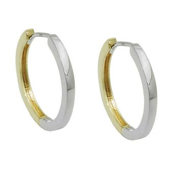 Creole, bicolor, 9Kt GOLD