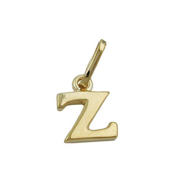 Anhänger, Buchstabe Z, 9Kt GOLD