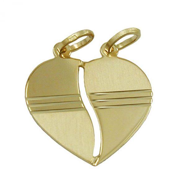 schmuck juweliere anh nger herz diamantiert 14k gold. Black Bedroom Furniture Sets. Home Design Ideas