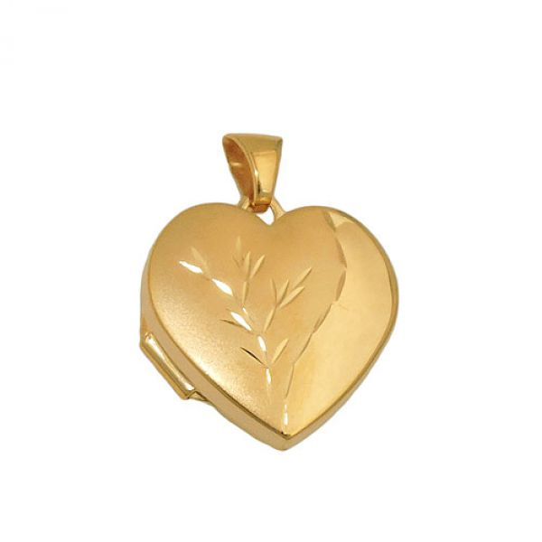 Anhänger Medaillon vergoldet, Silber 925