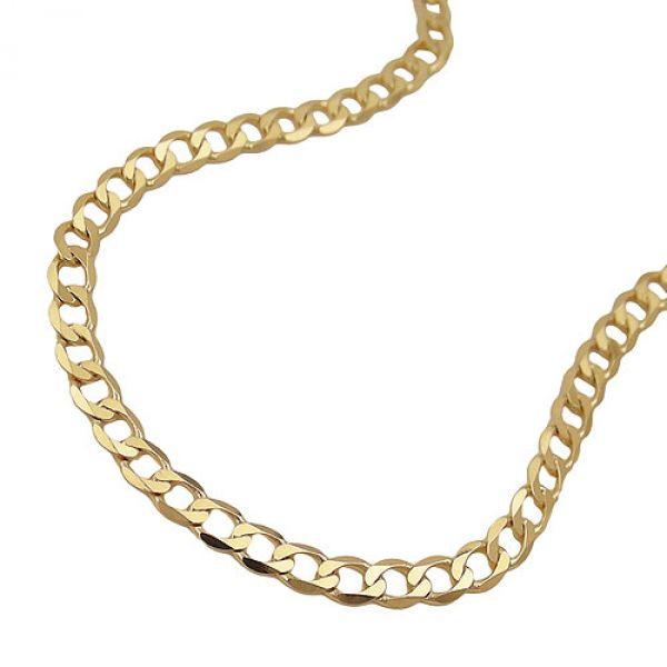 Armband, 19cm, Weitpanzer, 14 Kt GOLD