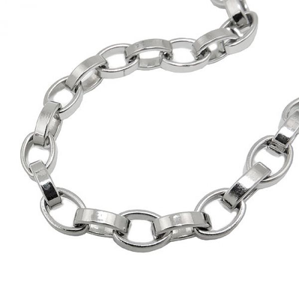 Armband, Ankerkette oval, Edelstahl