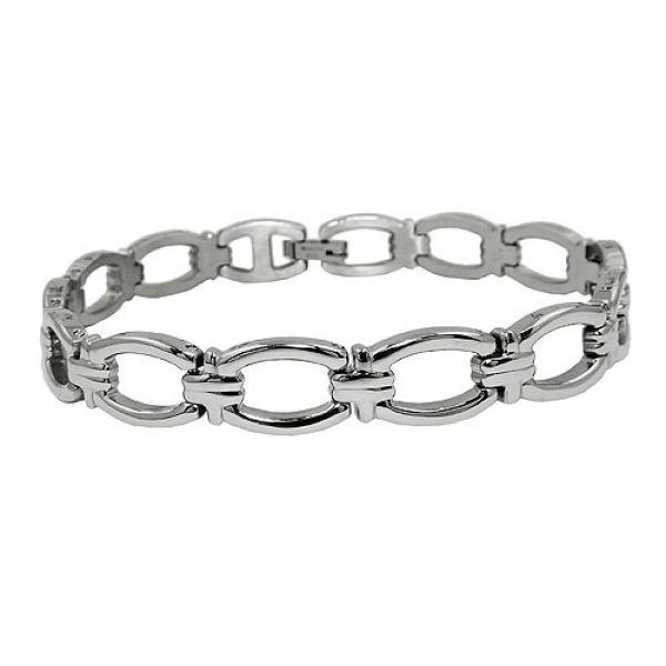 Armband, Glieder, Damenarmband Edelstahl
