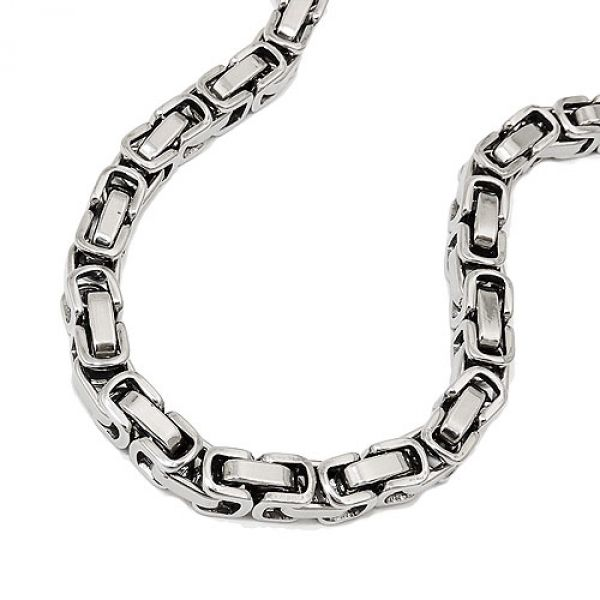 Armband, Königskette 5mm, Edelstahl