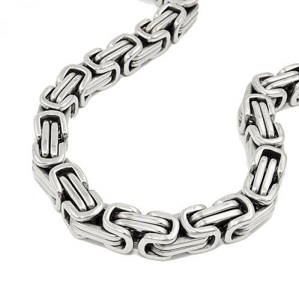 Armband, Königskette 7mm, Edelstahl