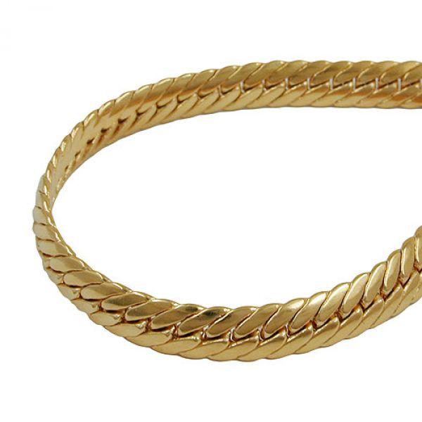 Armband, Panzer oval, vergoldet, AMD