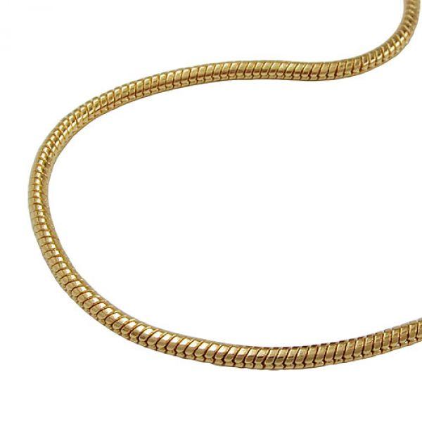 Armband, Schlange, rund-glatt, AMD 19cm