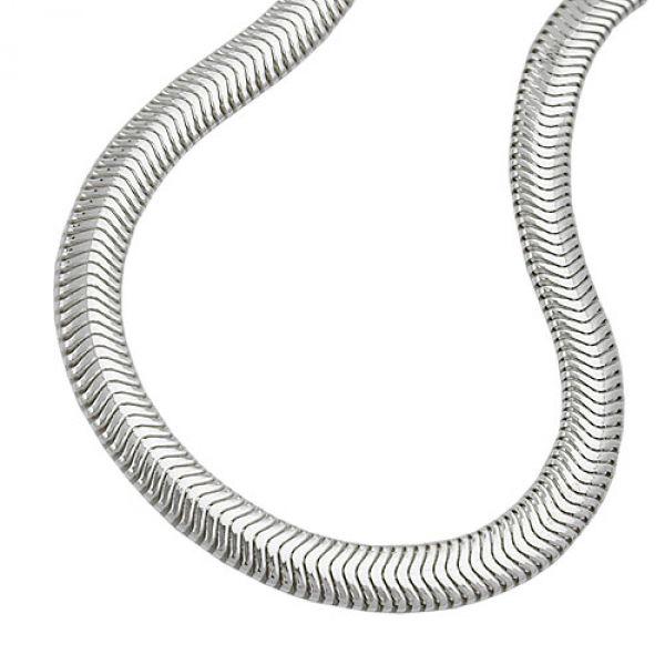Armband, Schlange flach, Silber 925 21cm