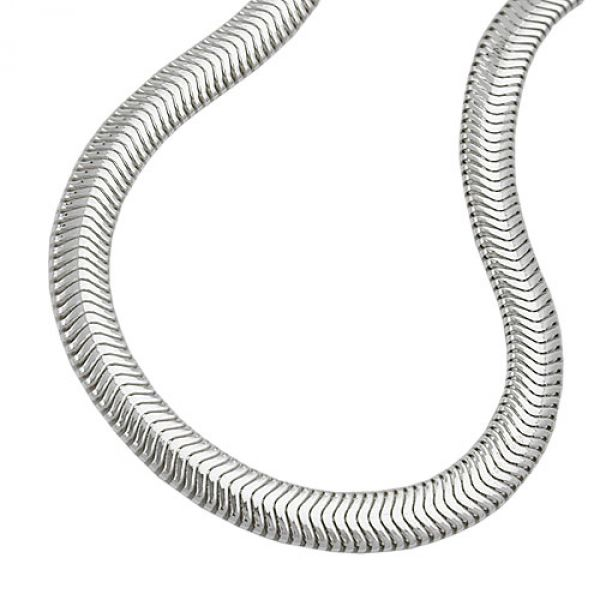 Armband, Schlange flach 19cm, Silber 925 19cm