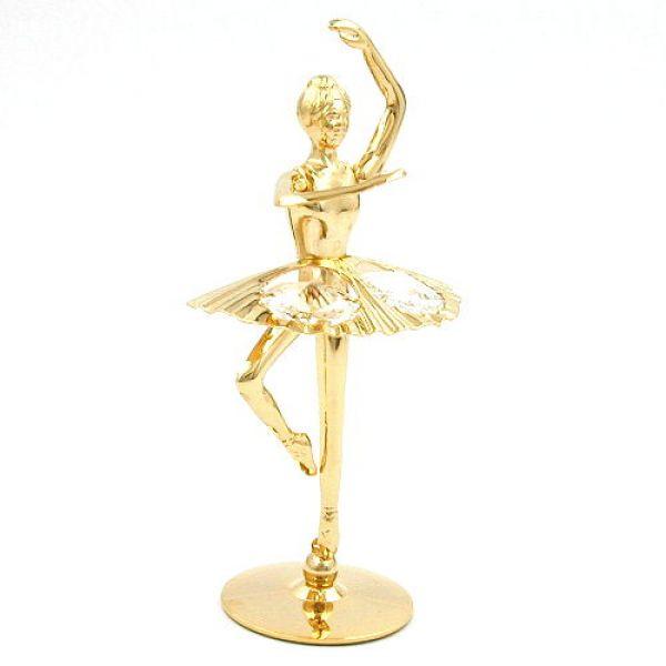 Ballerina, mit Glas-Steinen