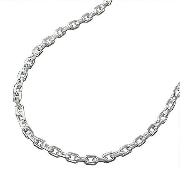 Collier, Ankerkette, Silber 925 45cm