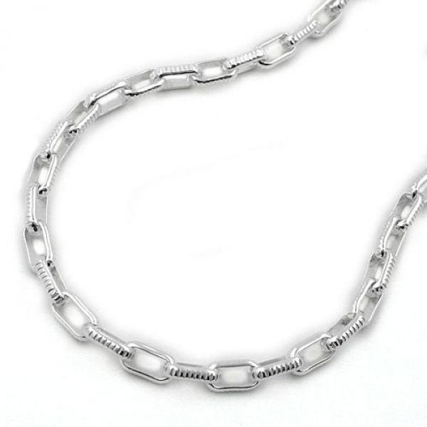 Collier, Ankerkette, Silber 925 50cm