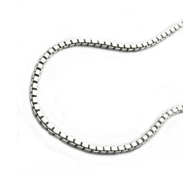 Fußkette, 1mm Venezianer, Silber 925 27cm
