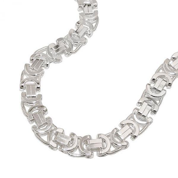 Kette, 6x2 mm Königskette, Silber 925