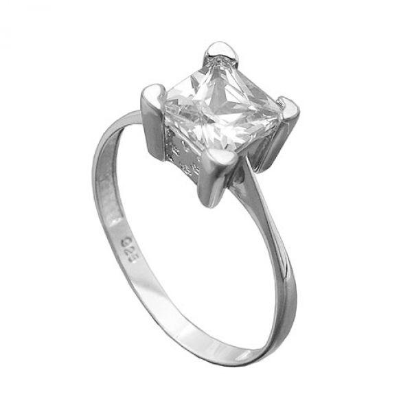Ring, mit Zirkonia, Silber 925