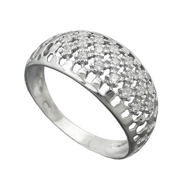Ring, mit Zirkonias, Silber 925